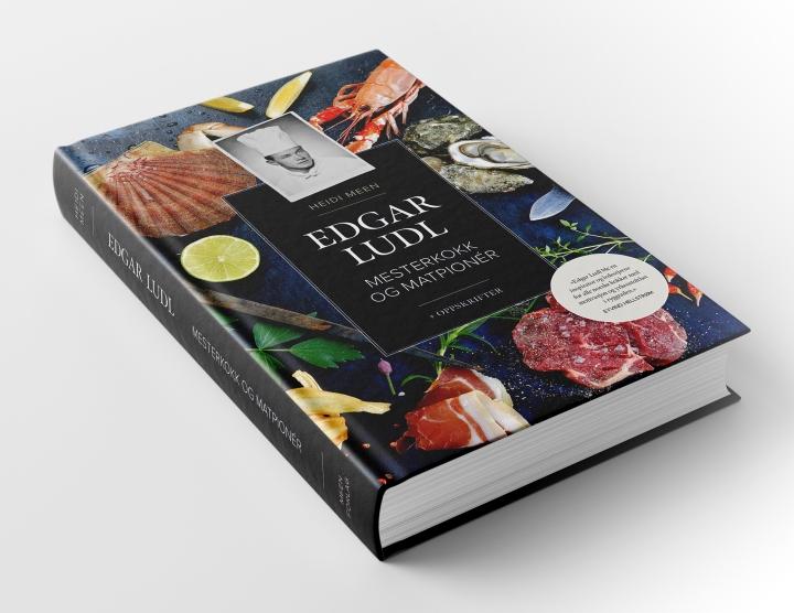 Bilde av boken Edgar Ludl - Mesterkokk og matpioner